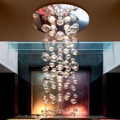 Love to use this for a Champaign party.   eurofase_ether_ceiling_light