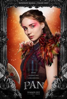 See Pan Movie Posters Featuring Hugh Jackman, Garrett Hedlund + More image Pan Rooney Mara 2014 Tiger Lily 2015 Movies, All Movies, Movies Online, Movies And Tv Shows, Movie Tv, Indie Movies, Comedy Movies, Action Movies, Levi Miller