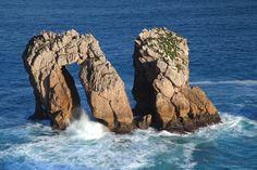 Amanecer en Costa Quebrada Cantabria