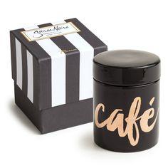 Soirée Noire Café/Coffee Vessel -  - CARLYLE AVENUE