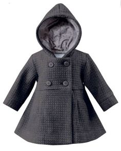 infant girl outerwear grey