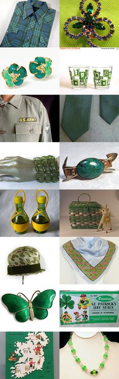 St. Patrick's Day. by livingavntglife on Etsy--Pinned+with+TreasuryPin.com