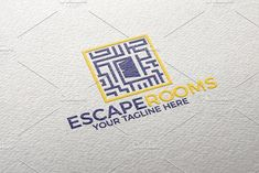 Escape Rooms | Logo  by REDVY on @creativemarket