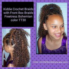 Crochet Hair For Toddlers : kids crochet on Pinterest Crochet Braids For Kids, Freetress ...