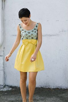 Yellow Beaded Dress - pt 1