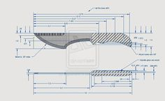 Knife Designs Patterns Drawings | Thread: Show me your design!