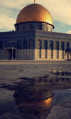 Kubbet'üs-Sahra (Dome of the Rock) Islamic Images, Islamic Pictures, Islamic Art, Mosque Architecture, Architecture Details, Coran Quotes, Terra Santa, Palestine History, Muslim Religion