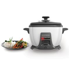 BLACK DECKER RCS614 14-Cup Cooked/7-Cup Uncooked Rice Cooker and Food Steamer with Saut¬_ Function, White >>> More info could be found at the image url.