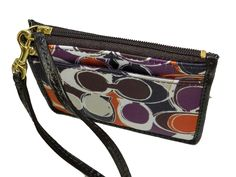 'Ashley Scarf Print ID Skinny Wallet Multicolor' is going up for auction at  9pm Tue, Feb 26 with a starting bid of $40.