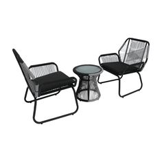 Best Selling Home Milan Wicker 3 Piece Chat Set | Hayneedle