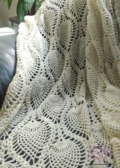 Crochet Pineapple Afghan