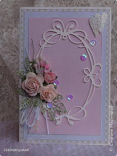 Всем доброго времени! Сегодня хочу показать свадебные открыточки. Попросили меня сделать открытку к свадьбе, а я как…