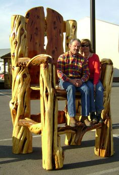 Gigantic Log Chair