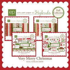Deck the halls in style with this stunning Christmas collection. This is the entire Very Merry Christmas Collection.