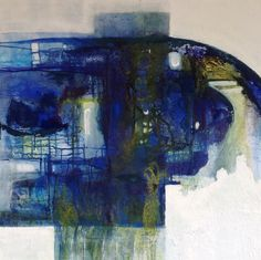 Artist: Yvonne van der Graaf: mixed media on canvas; 90 x 90 cm. My many facets are reflected in my objects. My work is mainly modern abstract. Abstract art has great depth and creates an imaginative space that encourages people to think.