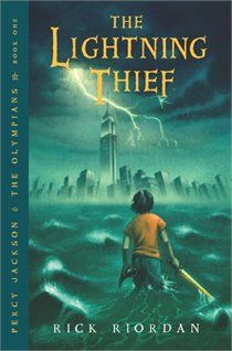 "Read ""Lightning Thief, The (Percy Jackson and the Olympians, Book by Rick Riordan available from Rakuten Kobo. Percy Jackson is a good kid, but he can't seem to focus on his schoolwork or control his temper. Rick Riordan Bücher, Rick Riordan Books, Book Series, Book 1, The Book, Kids Series, Teen Series, The Lightning Thief Book, Lightning Bolt"