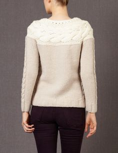 WIZWID:위즈위드 - [Boden:보던] [신상품Sale]Handknit Cable Sweater