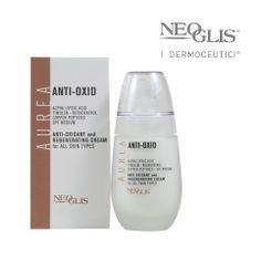 Un prodotto Neoglis in grado di bloccare i #RadicaliLiberi è il nostro #AntiOxid - oxidant and Regenerating Cream for all skin types presente nella #LineaAurea !  Una crema, fluida non ricca per ringiovanire, proteggere il #collagene, bloccare i radicali liberi, ridurre l'infiammazione e rinforzare le difese della pelle!  Tipo di pelle:  - tutte - crono e foto aging - asfittica, indebolita