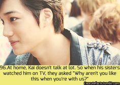 I'm like that too but as you get to know me I talk a lot….:)<3