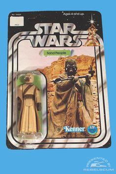 Kenner Star Wars 21 Back Carded Figure