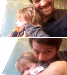 Adorable gifset of Misha with Maison :)