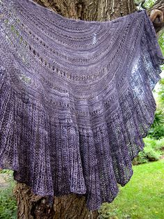Ravelry: Mizzle knitted shawl pattern by Patricia Martin  So who's going to make this one for me? tb