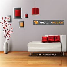 A house is much more than a shelter. Let us design your home to give it an appealing look with our innovative and quality decoration.   #realtyfolks #homedecor #interiordesign
