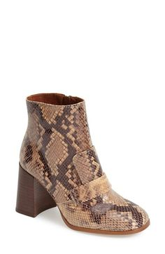 Outfit 1: Topshop 'Pop Message' Leather Ankle Boots (Women) (Brit Pop-In) available at #Nordstrom