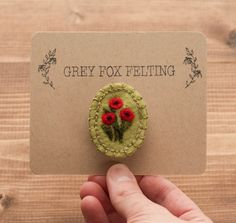 Hey, I found this really awesome Etsy listing at https://www.etsy.com/ru/listing/229551101/needle-felted-red-poppies-brooch-poppy