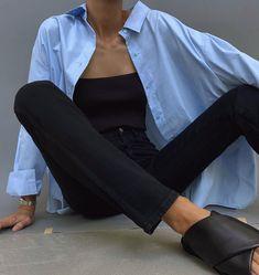 Look Fashion, Girl Fashion, Fashion Outfits, Womens Fashion, Simple Outfits, Casual Outfits, Cute Outfits, Minimal Outfit, Minimal Fashion