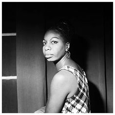 """Nina Simone // """"People are not easy to know. They're not easy to know so if you don't tell them how you feel you're not going to get anywhere..."""" by __nitch #instagram"""