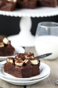 Double Chocolate Covered Banana Fudge CakeDouble Chocolate Covered Banana Fudge Cake   http://cafedelites.com