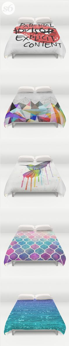Duvet Covers and millions of other products available at Society6.com today. Every purchase supports independent art and the artist that created it.