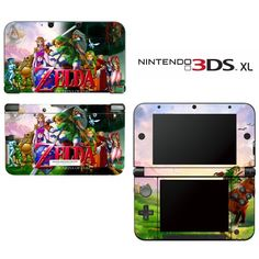 The Legend Of Zelda: Ocarina Of Time Decorative Video Game Decal Cover Skin Protector For Nintendo 3Ds Xl, 2015 Amazon Top Rated Faceplates, Protectors & Skins #VideoGames