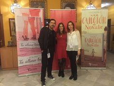 José de la Rosa, la editora de Titania Esther Sanz y María Martínez en el JAR2015