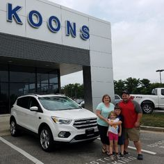 Dan & Jessica Motto with their New Ford Escape! #KoonsFord #Annapolis #allsmiles #FordEscape #FordFamily sold by @kaylamarie0825 #TeamKoons #YoureGonnaLoveIt