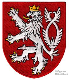 Coat of arms of the city of Gdansk Embroidered PATCH//BADGE