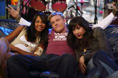 Remember when MTV would force random groups of celebrities to interact? Good times.