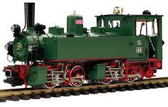 Tssd Württembergische Dampflok (Steam locomotive)