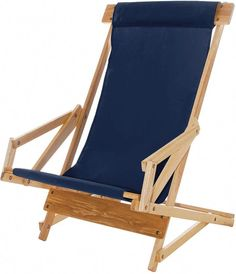 This recliner rocks! By the pool or on the beach, the rugged construction and ingenious design of this chair will provide years of comfort and relaxation. The design allows the chair to lean forward w Folding Beach Chair, Folding Camping Chairs, Patio Chair Cushions, Patio Chairs, Recliner Chairs, Recliners, Room Chairs, Outdoor Sofa, Outdoor Decor
