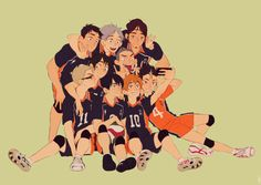 The Team | Haikyuu!! | #Anime