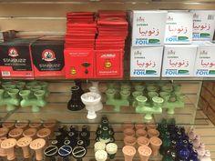 All you need hookah foil, charcoal, and bowls at Shisha Mart