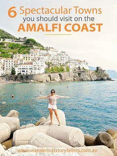 Amalfi Coast Road Trip - Italy More