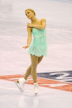 Kiira Korpi - FINLAND!!! Represent!!! :D   I've always loved figuring skating dresses :)