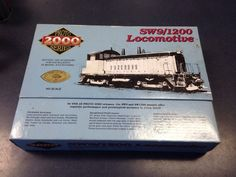 Proto 2000 Life Like HO SW9 1200 Locomotive 8732 711 Atlantic Coast Line | eBay