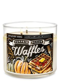 Pumpkin Pecan Waffles 3-Wick Candle | Bath & Body Works