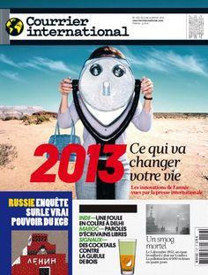 N°1157 • 2013 : ce qui va changer votre vie - Les innovations de l'année vues par la presse internationale - 03 janvier 2013