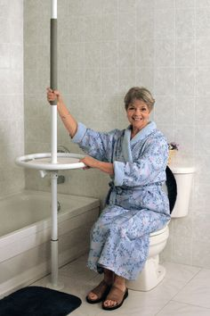 This might be a good idea for safety for the elderly.Gallery Safety Island ~ great idea, have never seen this. 7 figure marketer reveals how to get more clicks, more opens, without a monthly fee! Handicap Accessible Home, Bathroom Safety, Ada Bathroom, Adaptive Equipment, Aged Care, Dementia Care, Aging In Place, Elderly Home, Aging Parents