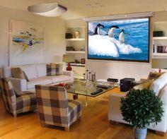 living room projector
