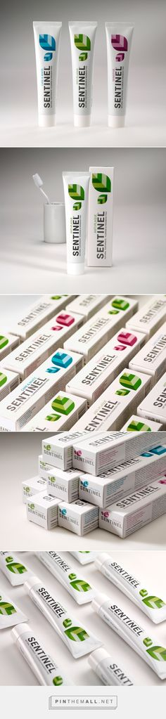 Sentinel Natural Toothpaste on Packaging of the World - Creative Package Design Gallery - http://www.packagingoftheworld.com/2015/07/sentinel-natural-toothpaste.html